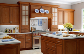 gold line kitchen cabinets