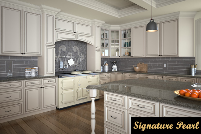 signature pearl kitchen cabinets in montclair NJ