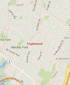 englewood NJ map