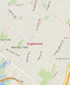 englewood NJ map