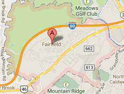 fairfield nj map