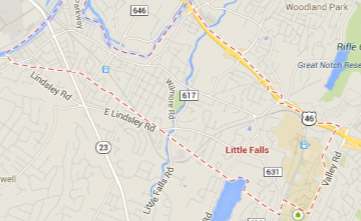 little falls NJ map