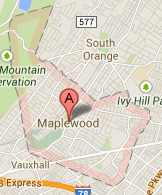 maplewood nj map