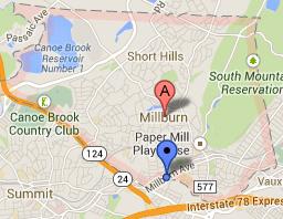 millburn-nj-map