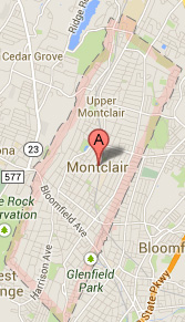 map of montclair NJ