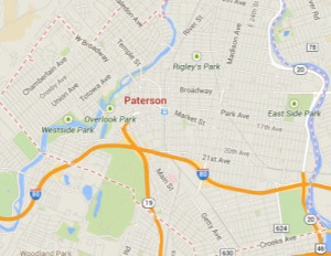 paterson nj map