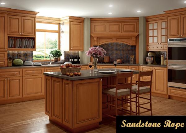sandstone rope kitchen cabinets in Newark NJ