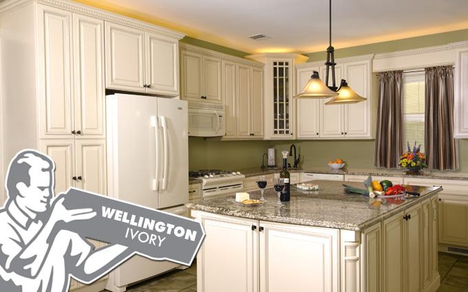 wellington ivory kitchen cabinets