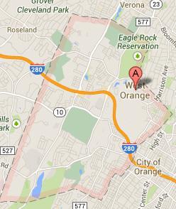 west-orange-nj-map