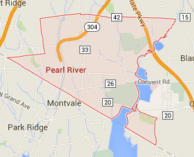 pearl river new york map