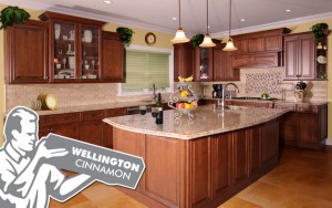 wellington cinnamon kitchen cabinets