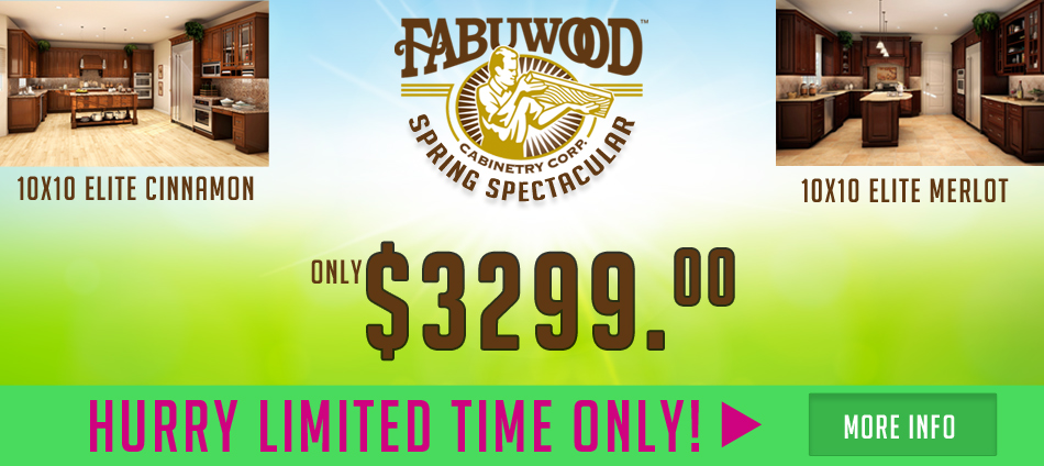 fabuwood kitchen cabinet special