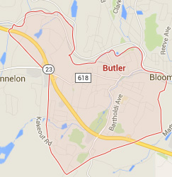butler nj map