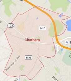 chatham NJ map