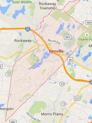 denville NJ map