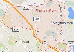 florham park NJ map