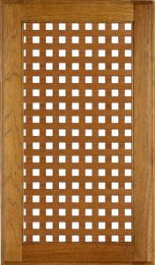 90 Degree Wood Trellis Image