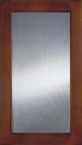 Narrow Ribbed Glass Image
