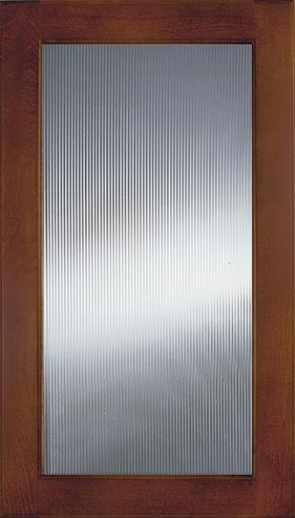 Narrow Ribbed Glass