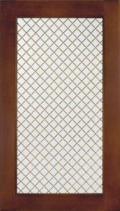 Wood Trellis 45 Degree Image