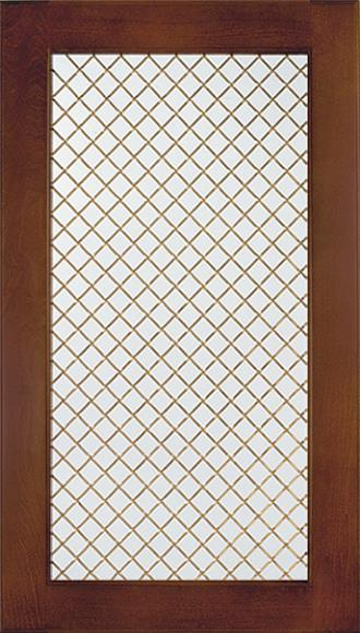 Wood Trellis 45 Degree